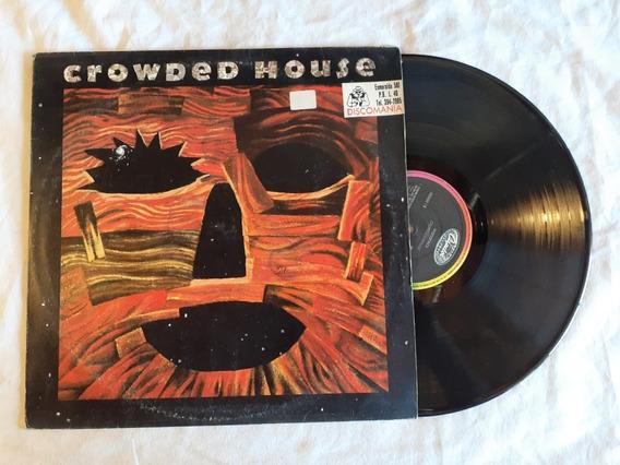 Crowded House Woodface 1991 Brasil Vinilo Lp Nm