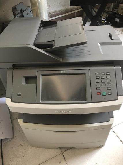 10 Impressoras Multifuncionais Lexmark X464