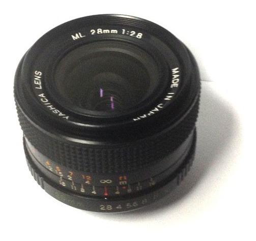 Objetiva Yashica Ml 28mm F/2.8