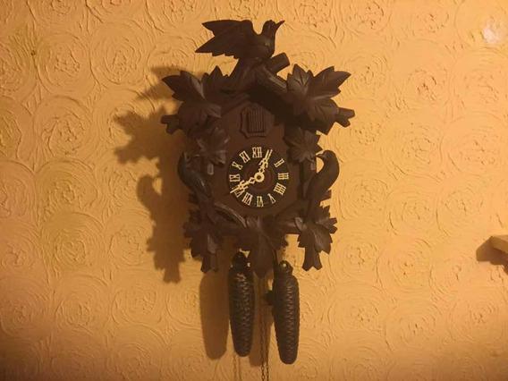 Reloj Cucú Aleman De Cuerda De Los 70s
