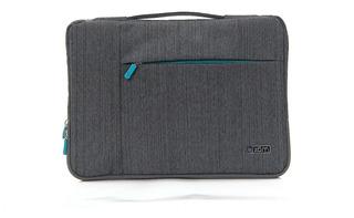 Funda Tablet Notebook Zom 14 Tela Espumada Cierre Zf14 310j