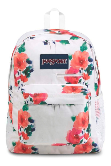 Zonazero Mochila Jansport Digibreak Watercolor Roses Floral