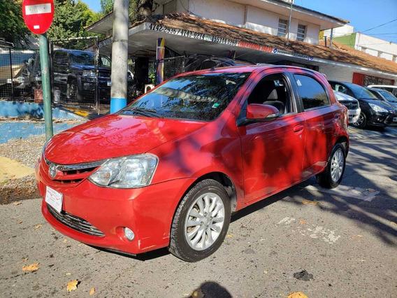 Toyota Etios 1.5 Xls Anticipo Mas Cuotas, Financio, Permuto