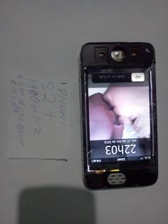 Lote 5 Celular China iPhone Liga Touch Ruim -leia