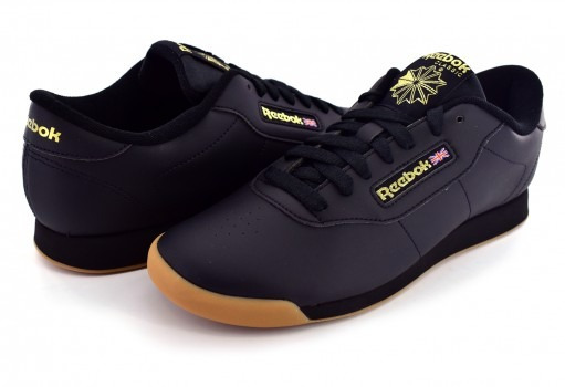 Tenis Reebok Bs8457 Black/gum Princess 23-27 Damas