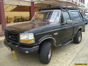 Ford Bronco Custom - Sincrónica