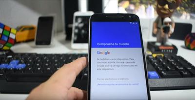 Reparacion Celular Moto G4 Quitar Cuenta Google A Domicilio