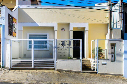 Casa, 169 M² - Venda Por R$ 900.000,00 Ou Aluguel Por R$ 1.550,00/mês - Jardim Emília - Sorocaba/sp - Ca0473