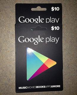 Tarjeta Google Play $10 Región Usa - Email Delivery