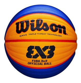 Pelota Basquet Wilson Fiba 3x3 Nro 6 Oficial Balón Basket