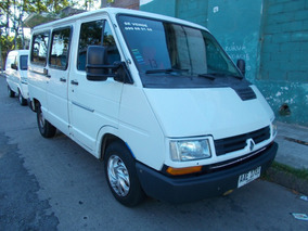 Trafic 1998 1.9/diesel 8 Pasajeros D/h 80000 Km U$ 5.990