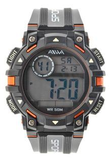 Reloj Hombre Sumergible Aiwa Digital Deportivo 5atm Adig014