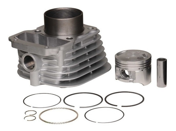 Kit Cilindro Honda Bros 125 Metal Leve