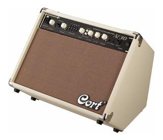 Amplificador Cort Af30 Para Acustica 30w