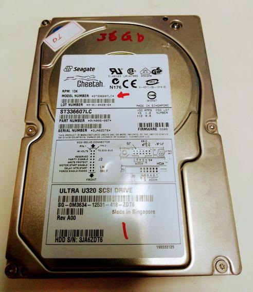 Hd Scsi Ultra 320 10k Mod. St336607lc 36gb.