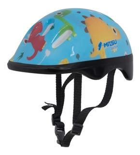 Capacete Infantil Little Child Dinossauro Tamanho 56cm Bike