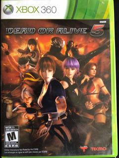 Dead Or Alive 5 Xbox 360