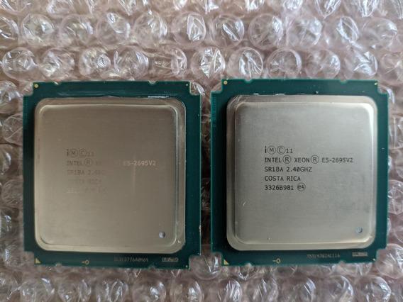 Processador Intel Xeon E5 2695v2 (12c 24t) Sr1ba R620 R720