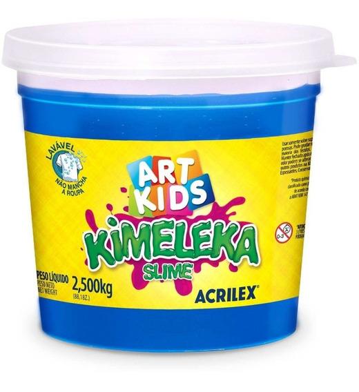 Slime Kimeleca 2,5kg Azul Acrilex