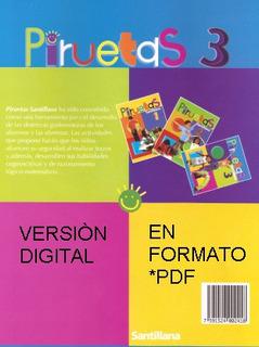 Texto Escolar Pirueta 3 De Editorial Santillana En Pdf