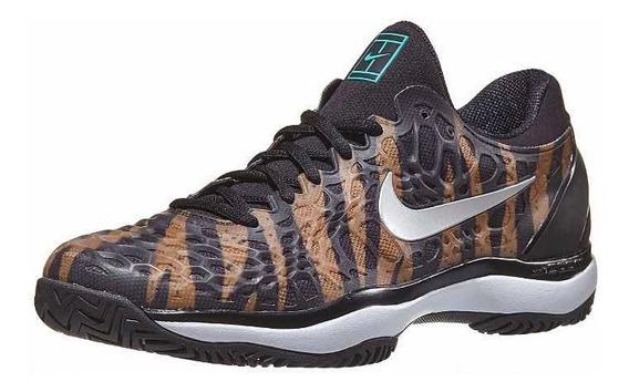 Zapatillas Nike Air Zoom Cage 3 Hc Animal Print 19