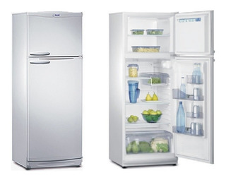 Heladera Con Freezer Bambi 2f-1600p 328 Lts Plata 9525