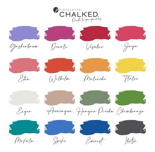 Pintalatte Chalked / Pintura De Tiza Chalk Paint - 6 X 330cc