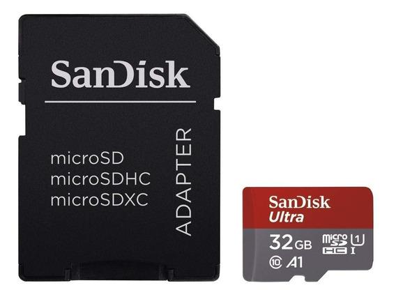 Cartão De Memoria 32gb Micro Sd Sandisk Ultra - Classe 10