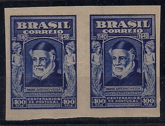 Brasil Variedade - C-161 - Prova Cor Azul Escuro - Par Nnn