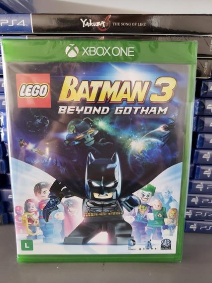 Lego Batman 3 Xbox One Mídia Física Lacrado Em Português