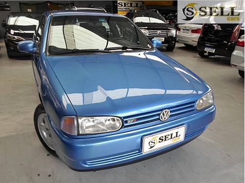 Vw - Gol 1.8 Tsi Azul 1996 Completo Raridade
