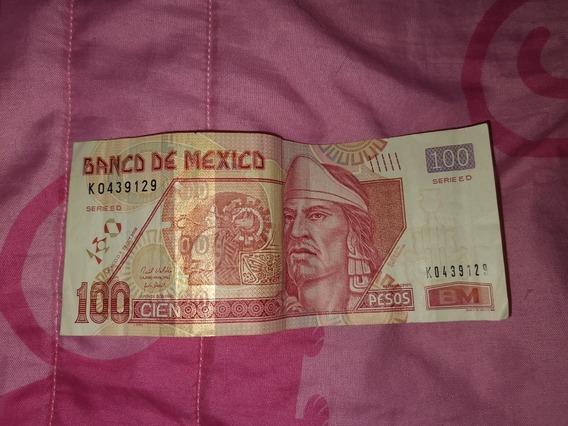 Billete 100 Pesos Mexicanos
