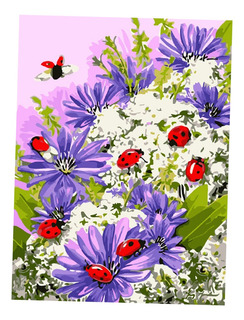 Unframed Digital Diy Paint By Number Kit Scenery Oil Paintin