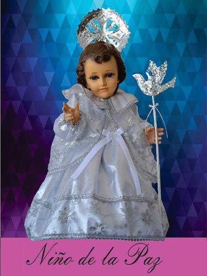 Varios Modelos Vestido Ropon Niño Dios Talla 6-12 Economico