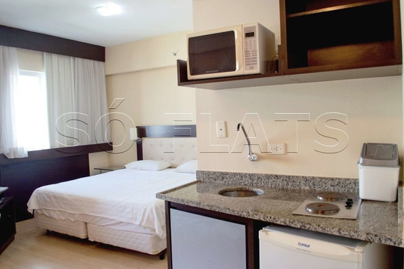 Flat No Paraíso, Próximo A 23 De Maio E Ao Hospital Beneficência Portuguesa - Sf2396