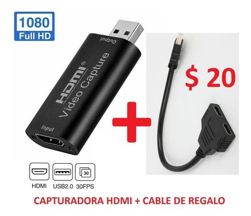 Capturadora De Video Hdmi Usb 1080  Nuevos !!