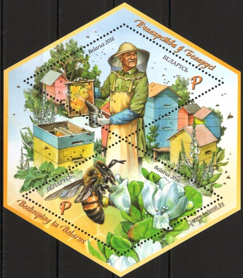 2016 Insectos- Abejas- Bielorrusia- Mnh
