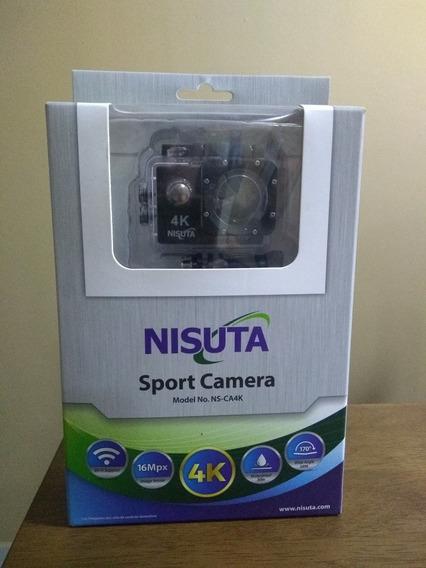 Cámara Nisuta Sport Camera Mod. Ns-ca4k