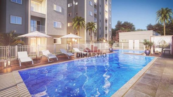 Apartamento Com 2 Dormitórios À Venda, 53 M² Por R$ 165.000,00 - Parque Residencial Francisco Lopes Iglesia - Nova Odessa/sp - Ap0708