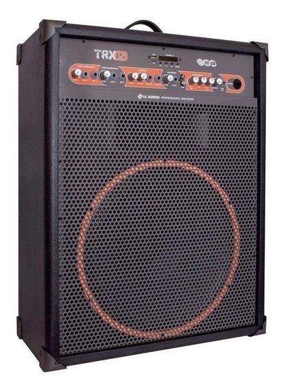Caixa Amplificada Ll Áudio 120w Rms Multiuso Trx15 Bivolt