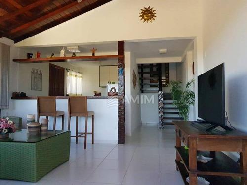 Imagem 1 de 26 de Geribá, Casa Em Condomínio, R$850.000,00 - Ca0588