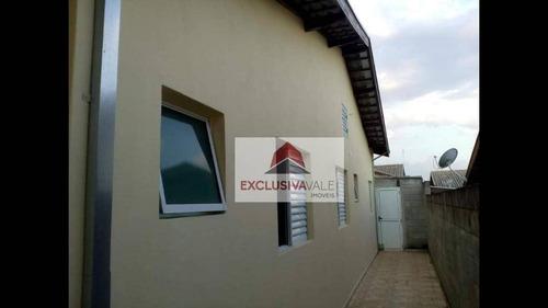 Casa Com 3 Dormitórios À Venda Por R$ 270.000 - Loteamento Jardim Sol Nascente - Jacareí/sp - Ca0611