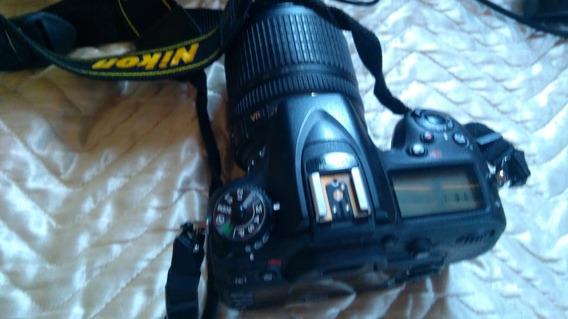 Câmera Nikon D7100 Com Lente 18-105 Mm