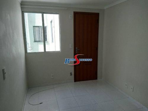 Imagem 1 de 12 de Apartamento Com 2 Dormitórios À Venda, 49 M² Por R$ 250.000 - Vila Prudente - São Paulo/sp - Ap3147