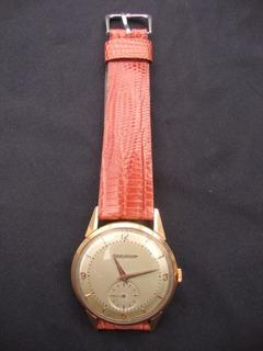 Reloj Caballero Jaeger Le Coultre Caja De Oro C/garantia