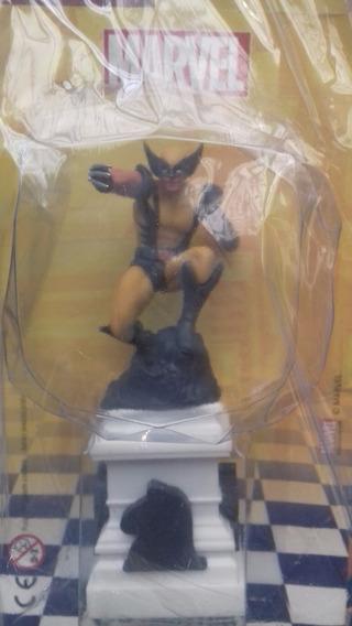 Miniatura Xadrez Marvel 3 - Wolverine - Bonellihq L18