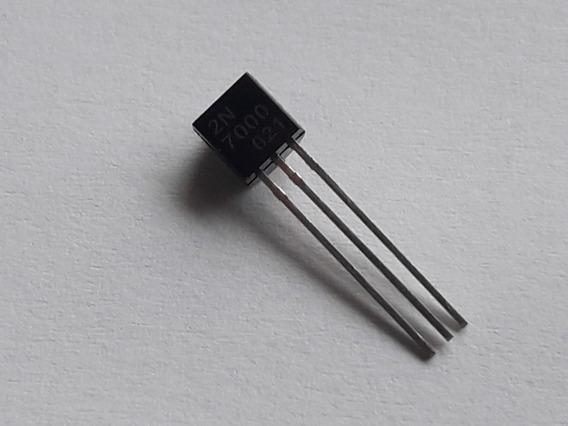 Transistor 2n7000 Kit Com 200 Peças
