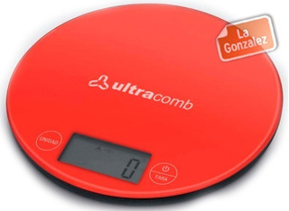 Balanza Digital Cocina Ultracomb Bl6001 H/ 3 Kilos