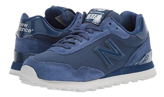 Tenis New Balance 515 Suade Blue Brillitos