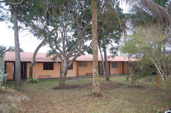 Casa Ilha Comprida -750m2 Área, 3q, Centro -500m Do Mar